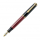 Pelikan Souveran Black Red M600 Fountain Pen, Medium Nib