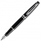 Waterman Expert Matt Black CT Fountain Pen, Medium Nib