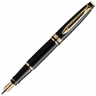 Waterman Expert Mars Black GT Fountain Pen, Medium Nib