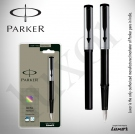 Parker Beta Premium Silver Fountain Pen