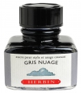 J. Herbin D ink bottle, 30ml, Cloudy Grey