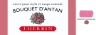 J. Herbin D ink bottle, 30ml, Bouquet D'Antan